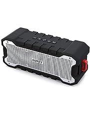 AUKEY Cassa Bluetooth Waterproof IPX7 con 30 ore Playtime, Portatile e Protetto da Spruzzi di Acqua, Bassi Migliorati altoparlante bluetooth per iPhone, iPad, Samsung e altri Dispositivi