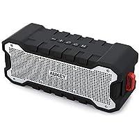 AUKEY Cassa Bluetooth Waterproof con 30 ore Playtime, Portatile e Protetto da Spruzzi di Acqua, Bassi Migliorati per iPhone, iPad, Samsung e altri Dispositivi