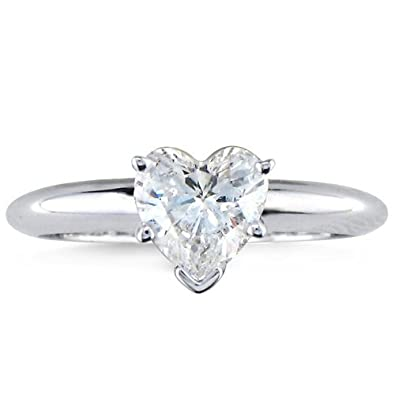 3 4 Carat Igi Certified Heart Shape Cut Diamond Solitaire Engagement