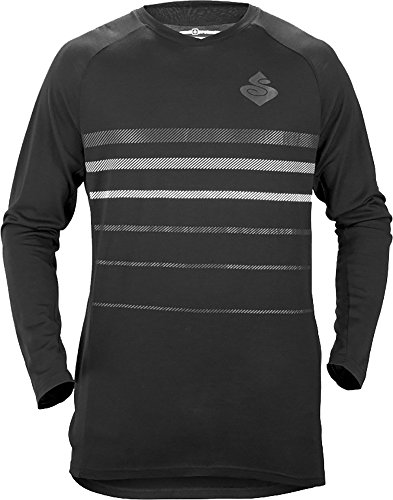 Sweet Protection Badlands Merino LS Jersey - Men's True Black Large (Protection Ls)