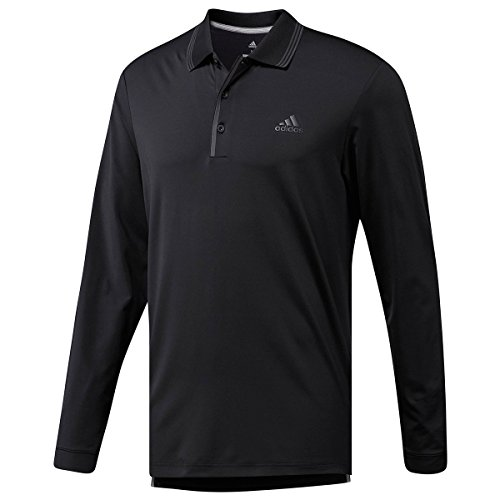 Ultimate Adidas uomo nera Polo Cy7416 da Longsleeve negro TUUdFwPqx