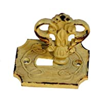 Pewter Lock and Key Knob