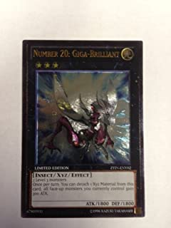 Photon Shockwave Number 20: Giga-Brilliant PHSW-EN042 1st Yu-Gi-Oh! Rare