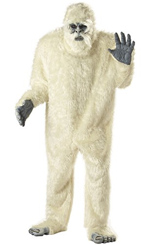 Abominable Snowman Costumes (California Costumes Men's Abominable Snowman Costume,White,One Size)