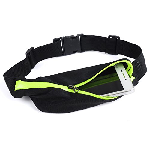 Wailea Fitness Workout Belt - Running Belt Pouch - for Men Women Teens Athletes - Exercise Jogging Fitness Cycling Traveling - Holds Phone Money IDs