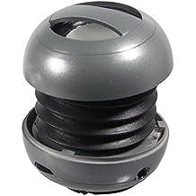 ZZDeals Grey Portable Speaker Ball - External Cell Phone Speaker