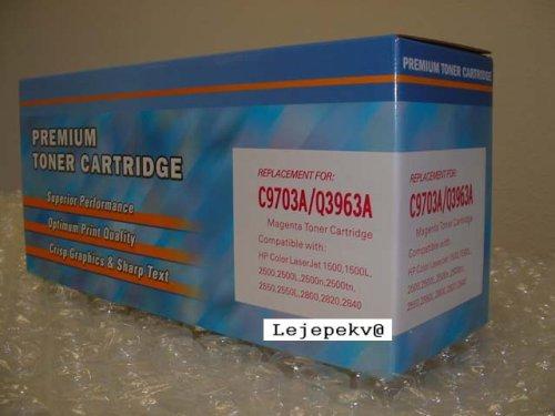C9703a Compatible Magenta Laser - HP C9703A Compatible Magenta Laser Toner Cartridge For HP LaserJet 1500 & 2500 Series Printers