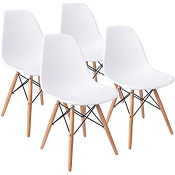 Charmant Eames Pre Assembled Dining Chair Effiel Modern DSW Chair, Shell Lounge Chair  For Kitchen,
