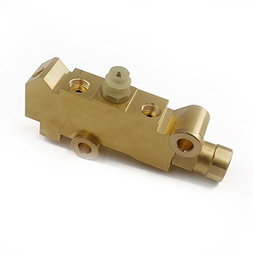 Brake System Proportioning Valve - UTSAUTO Brass PV4 Brake Proportioning Valve Disc/Disc Brake System Combination Valve