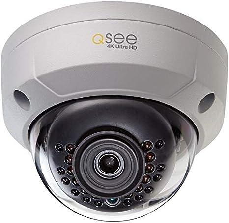 QT-IP 8 MEGAPIXEL IP Ultra-HD with H.265 Q-See QTN8086BA 8MP 4K Camera QT