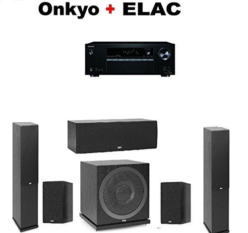 Onkyo Receiver  + Pair of Elac F5.2 Floorstanding Tower + EL
