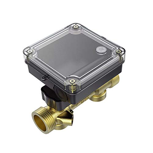 (Ultrasonic Flow Sensor with Brass Pipe and Case for Water Meter and Heat Meter DN25 Ultrasonic Flow Sensor)