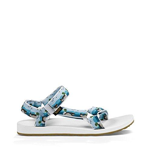 Teva Mens Original Universal Sandal, DUCKS LIGHT BLUE, 47 D(M) EU/12 D(M) UK