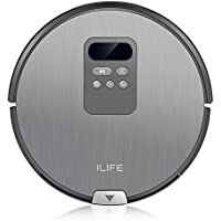 Robotic Vacuum Cleaner, 2600ml Super Smart Cleaning Sweeper with Smart Mopping and Water Tank for Pet Fur and Allergens, High Suction Infrared Induction Timeset Work & Triple Filtration, Dust Box 0.7L