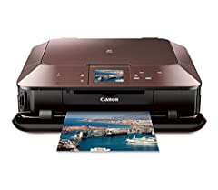 "The MG7120 also allows you to print on CDs and DVDs, as well as load paper into the front of the printer.View larger   View larger  View larger  PIXMA MG7120 Wireless Inkjet Photo All-In-One Premium Wireless All-In-One with 3.5"" Touc..."