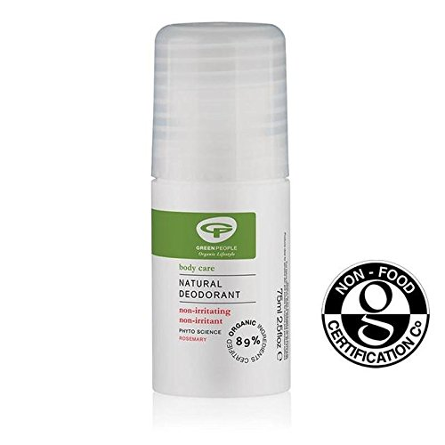 Green People Organic Rosemary Roll On Deodorant 75ml (PACK OF 4)