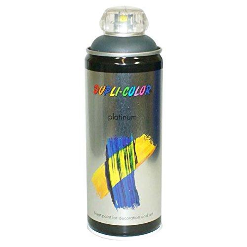 Duplicolor 720345 Platinum Spray, Color Gris Antracita Mate, 400 ml Motip-Dupli GmbH B007TWNSAG