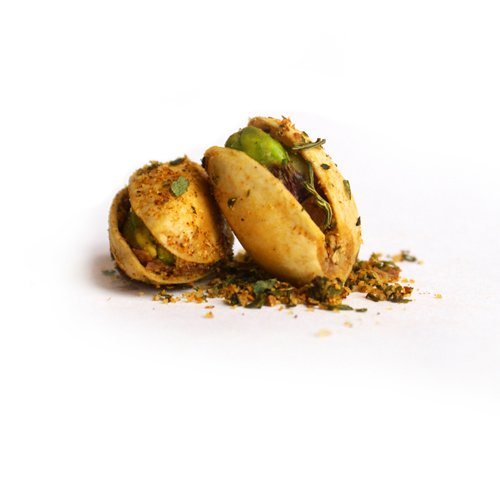 The Gilded Nut - Habanero Heat Pistachios, In Shell, Seasoned & Roasted - 25 Lb by The Gilded Nut