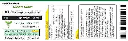 Natural THC 2 Day Cleanse Remover Detox Flush (Best Natural Detox For Thc)