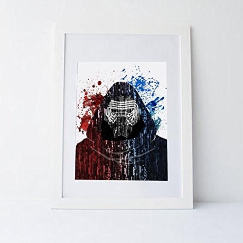 with Kylo Ren Posters design