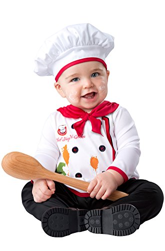 InCharacter Baby Hugs & Quiches Chef Halloween Costume 0-6 -
