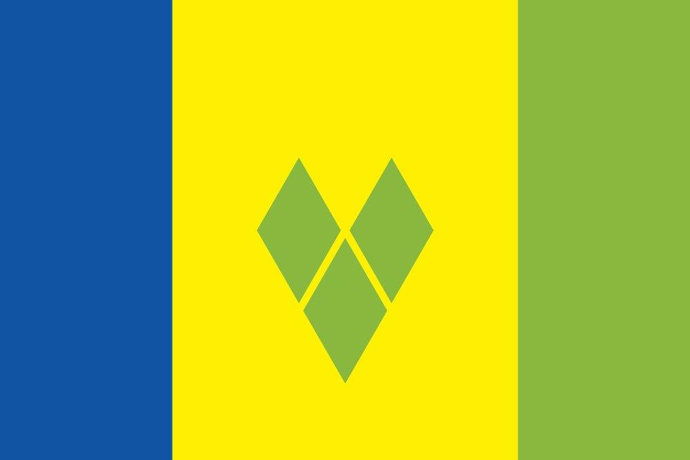 素晴らしい外見 世界の国旗 セントビンセント グレナデイーン諸島 国旗 国旗 [120×180cm 高級テトロン製] B0090ZZ1OG B0090ZZ1OG, Occhio Graphic:93eaab36 --- vietnox.com