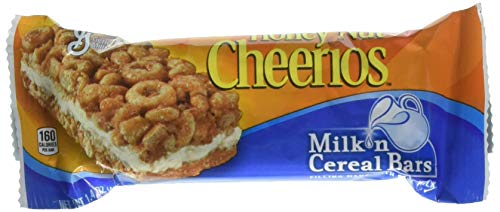 - General Mills Honey Nut Cheerios Milk n Cereal Bar (12 Bars)