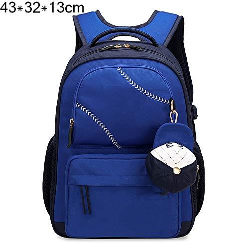 Schoolbags Protezione Zq 2 Shoulders Grade La Della Cresta E Ragazze 1 4 Bambini Cartella 6 Ragazzi Blu 3 Ridurre Primary Zaini BwxIxT