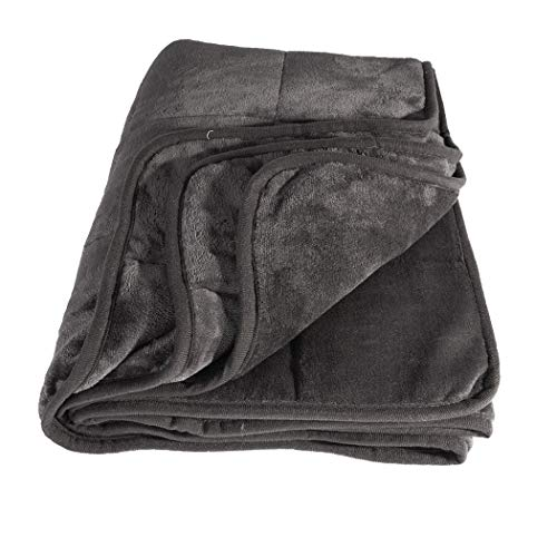 Cheap IdeaWorks Calming Adult Weighted Blanket - Cooling & Soft Weight Covers (50 x 75 inches 15) Black Friday & Cyber Monday 2019