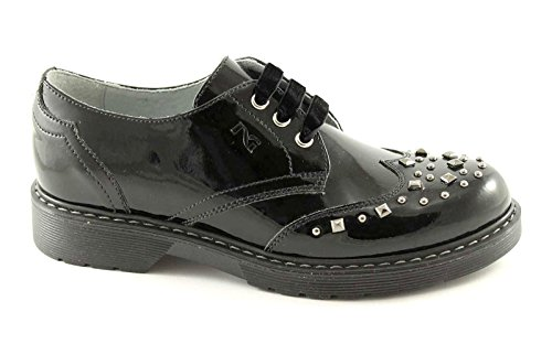 Nero Chaussures Colombie 31133 Junior Goujons Fille Black Jardins Peinture Nero Giardini Noires Les nSqY77wF