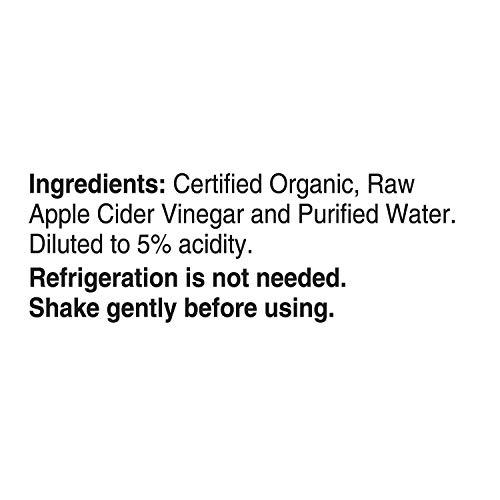 Bragg Organic Raw-Unfiltered Apple Cider Vinegar 128 fl.oz. (1 Gallon Jug) 3