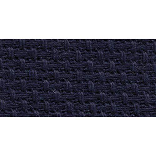 DMC GD1436-5225 Classic Reserve Gold Label Aida Fabric Box, Navy, 14 -