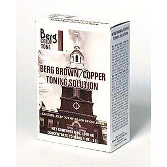 Berg Color-Tone, Brown / Copper Toner for Black & White Prints, Makes 1 Quart, #BCT-BT32