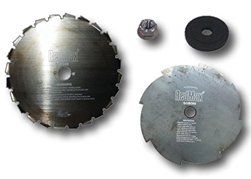 MowerPartsGroup OEM RedMax Bruchcutter Blades Kit Heavy Brush, Small Trees and Grass BCZ