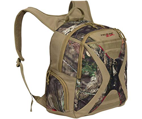 Fieldline Montana Backpack Front Pocket with 3 Piece Organizer and Adjustable Sternum Strap, Mossy -