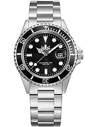 Men's PX002C 300M Dive Watch Swiss Quartz Black Sport Watch …