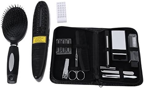 Cepillo de tratamiento láser para la caída del cabello de color negro