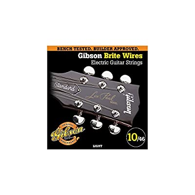 Gibson Brite Wires Electric Guitar Strings by Gibson Gear