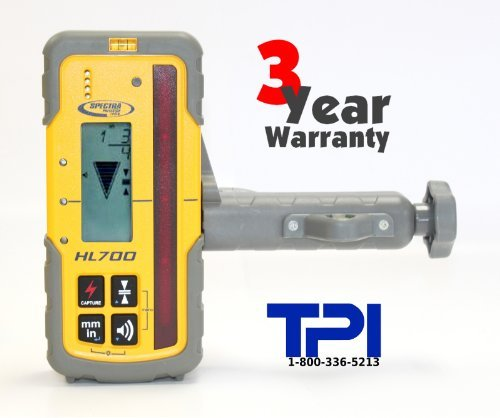 (NEW! SPECTRA PRECISION HL700 LASER LEVEL RECEIVER DETECTOR, TRIMBLE, TOPCON)