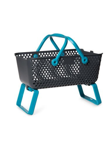 Multipurpose Garden Basket Mod Hod Blue (Garden Basket)