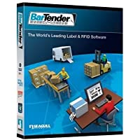 Seagull Scientific Bartender Label & Rfid Software 10.0 Professional Edition Print Only Edition One User License