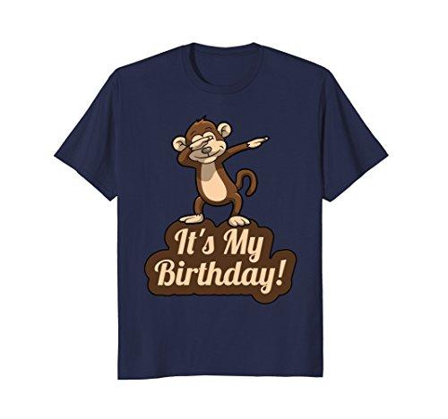 It's My Birthday Dabbing Monkey T-Shirt for Men, Women, Kids -