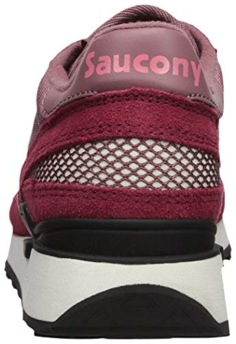 Saucony Original Donna Bordeaux Rose Burdeos Sneakers Shadow FwOqng1xF