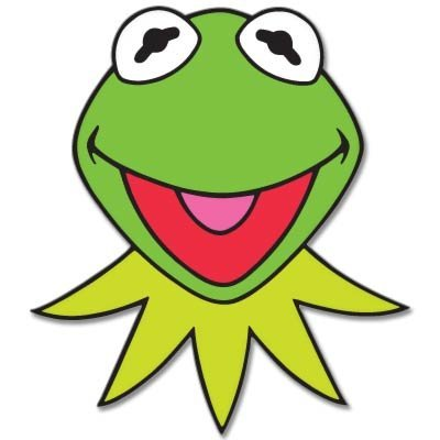 KERMIT Muppets Jim Henson Vynil Car Sticker Decal - 5