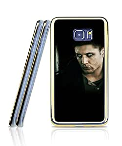 Galaxy S6 Edge Plus Funda Case - Film Supernatural Quotes Dean Scratch Resistant Cute Funny Design Stylish 2 in 1 + Golden border Scratch-Proof Ultra Thin + Clear Plastic Protective Funda Case For Samsung Galaxy S6 Edge Plus [Just for S6 Edge Plus]