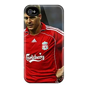 MEIMEICute Tpu Harries The Best Football Player Of Liverpool Steven Gerrard Case Cover For Iphone 4/4sMEIMEI