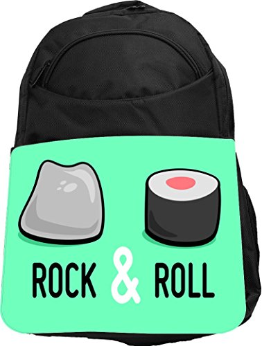 Rikki Knight UKBK Funny Quote Rock & Roll Sushi Roll and ...