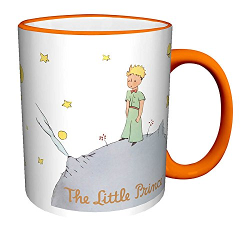 Little Prince Gift (The Little Prince Standing Children's Classic Literature Book Ceramic Gift Coffee Tea Cocoa Mug)