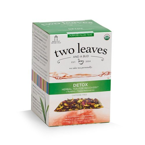 TWO LEAVES AND A BUD Organic Detox Tea 15 Bag, 0.02 Pound Review