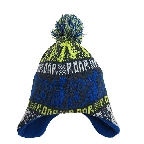 Knitting Earflap Hat Pattern - Miaha Kids Baby Toddler Boys Knitting Hat Winter Warm Earflap Skiing Snow Hat Fleece Hairball Cap